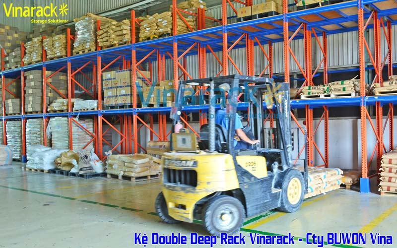 Hệ Thống kệ double Deep racking